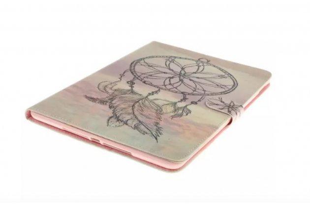 Уникальный чехол-обложка с подставкой и магнитной застежкой для ipad pro 12.9 с рисунком тематики ловец снов