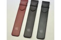 Чехол-футляр-карман для стилуса apple pencil из качественной импортной кожи с защитным хлястиком