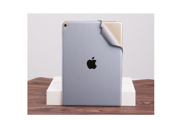 Защитная пленка-наклейка на твёрдой основе, которая не увеличивает планшет в размерах для ipad pro 12.9 серебряная