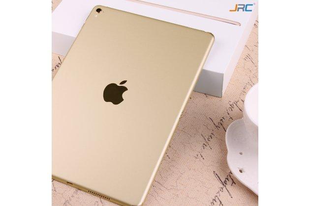 Защитная пленка-наклейка на твёрдой основе, которая не увеличивает планшет в размерах для ipad pro 12.9 золотая
