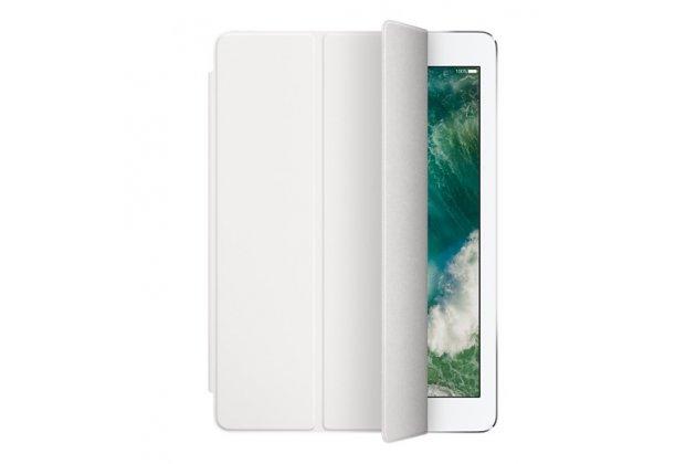 Подлинный чехол с логотипом apple для ipad pro 12.9 smart cover (mq0g2zm/a) белый