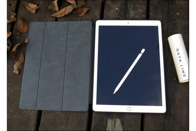 Подлинный чехол с логотипом apple для ipad pro 12.9 smart cover (mq0g2zm/a) черный