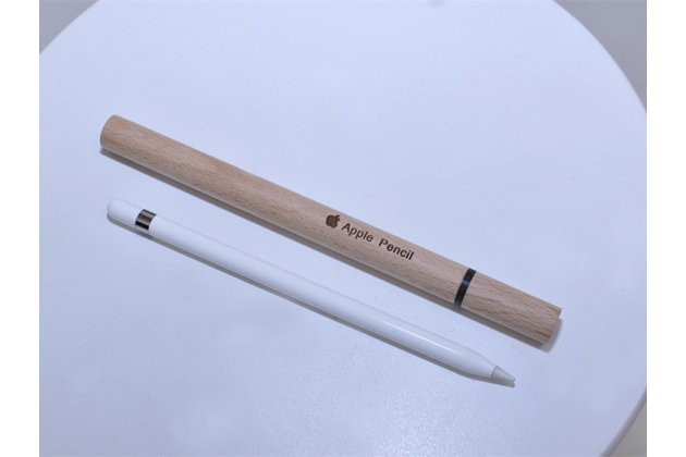 Чехол-футляр-кейс-бокс для apple pencil из натурального дерева с внутренней мягкой подкладкой