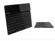 Фирменная оригинальная съемная клавиатура/док-станция/база для планшета Lenovo Ideatab S6000/S6000L черного цв..