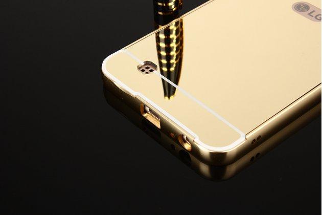 Металлическая задняя панель-крышка-накладка из тончайшего облегченного авиационного алюминия для lg x cam k580ds золотая