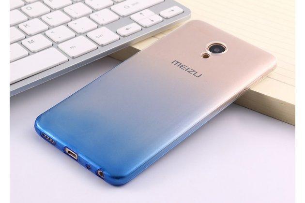 Ультра-тонкая полимерная задняя панель-чехол-накладка из силикона для meizu m6 note прозрачная с эффектом дождя