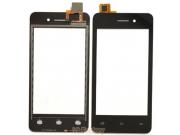 Фирменное сенсорное-стекло-тачскрин на Micromax Q301 черный + инструменты для вскрытия + гарантия..