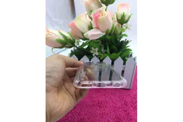 Ультра-тонкая полимерная из мягкого качественного силикона задняя панель-чехол-накладка для nokia 8 прозрачная