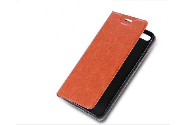Чехол-книжка из качественной импортной кожи с мульти-подставкой и визитницей для nokia 8 белый