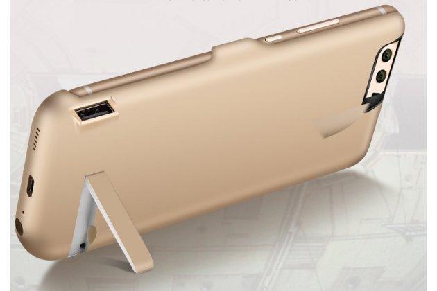 Чехол-бампер со встроенной усиленной мощной батарей-аккумулятором большой повышенной расширенной ёмкости 10000 mah для oneplus 3t a3010/ oneplus 3 a3000 / a3003 черный + гарантия