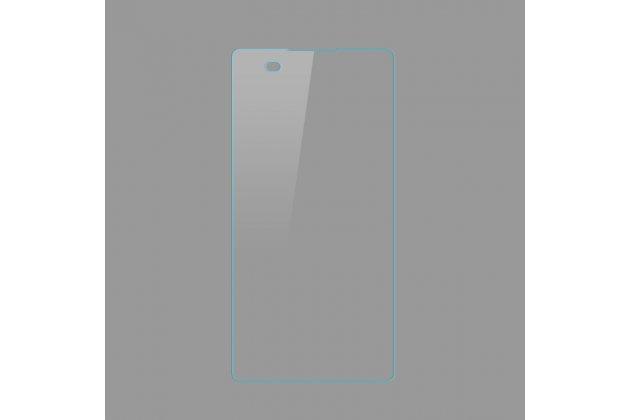 Защитное закалённое противоударное стекло премиум-класса из качественного японского материала с олеофобным покрытием для телефона sony xperia e5