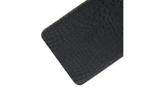 """Задняя панель-крышка на пластиковой основе обтянутая фактурной кожей для sony xperia xa / xa dual 5.0"""" (f3113/ f3112 / f3115 /e6533) черная"""