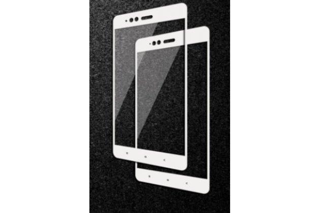 3d защитное изогнутое стекло с закругленными изогнутыми краями которое полностью закрывает экран / дисплей по краям с олеофобным покрытием для xiaomi mi 5x/xiaomi mi a1