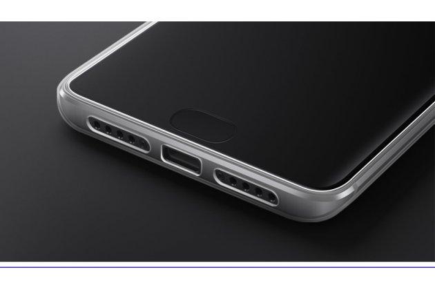 Ультра-тонкая полимерная из мягкого качественного силикона задняя панель-чехол-накладка для xiaomi mi 5x / xiaomi mi a1 прозрачная