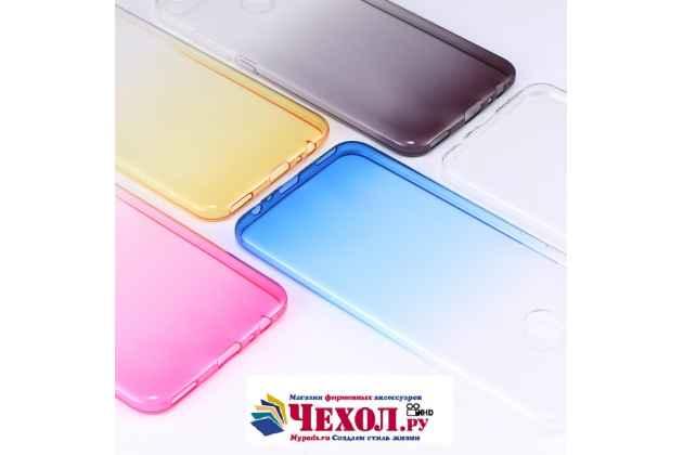 Ультра-тонкая полимерная задняя панель-чехол-накладка из силикона для xiaomi mi 5x / xiaomi mi a1 прозрачная с эффектом песка