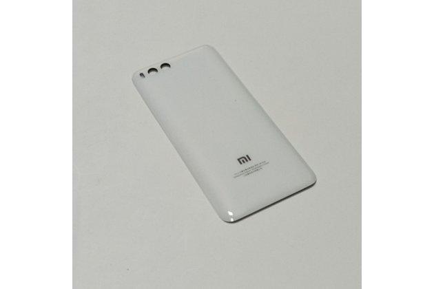 Родная задняя крышка-панель которая шла в комплекте для xiaomi mi 6 белая
