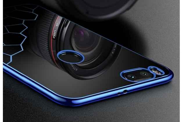 Ультра-тонкая полимерная из мягкого качественного силикона задняя панель-чехол-накладка для xiaomi mi 5x/xiaomi mi a1 с красивым дизайном синяя