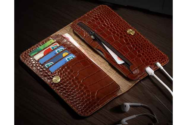 Чехол-портмоне-клатч-кошелек на силиконовой основе из качественной импортной кожи для xiaomi mi 5x/xiaomi mi a1 синий