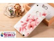 Фирменная роскошная задняя панель-чехол-накладка из мягкого силикона с объемным  3D изображением  на Xiaomi Mi..