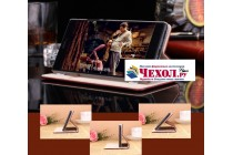 """Премиальный элитный чехол-книжка с логотипом из качественной импортной кожи с мульти-подставкой и визитницей для xiaomi mi 5s / xiaomi mi5s 5.15 """"ретро"""" красное вино"""