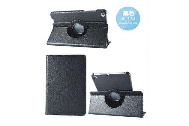 Чехол для планшета xiaomi mipad 2/3/ mipad 2 windows edition поворотный роторный оборотный черный кожаный