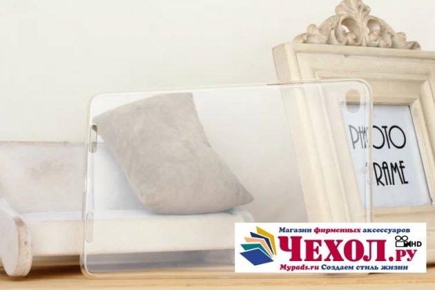 Ультра-тонкая полимерная из мягкого качественного силикона задняя панель-чехол-накладка для xiaomi mipad 2/3 прозрачная