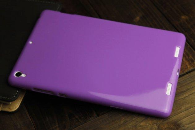 Ультра-тонкая полимерная из мягкого качественного силикона задняя панель-чехол-накладка для xiaomi mipad 2/3 розовый