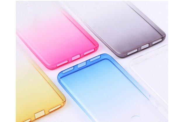 Ультра-тонкая полимерная задняя панель-чехол-накладка из силикона для xiaomi redmi note 5a прозрачная с эффектом дождя
