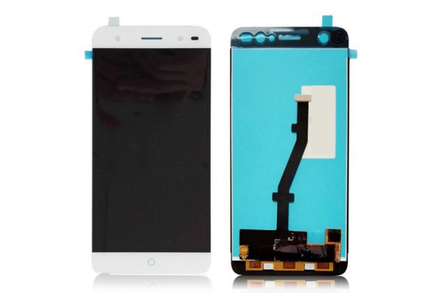 Lcd-жк-сенсорный дисплей-экран-стекло в сборе с тачскрином на телефон zte blade v7 lite (bv0720)/ blade a2 белый + гарантия