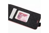 Вертикальный откидной чехол-флип для zte blade v7 lite (bv0720) коричневый из натуральной кожи prestige