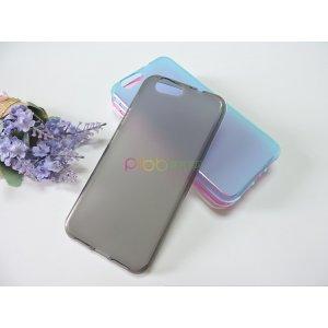 Ультра-тонкая полимерная из мягкого качественного силикона задняя панель-чехол-накладка для zte blade z10 5.2 серая