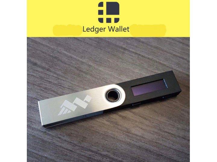 Аппаратный кошелек / usb-флешка ledger nano s для холодного хранения криптовалюты..