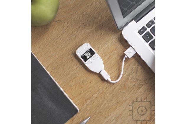 Аппаратный кошелек trezor wallet для холодного/физического хранения криптовалюты
