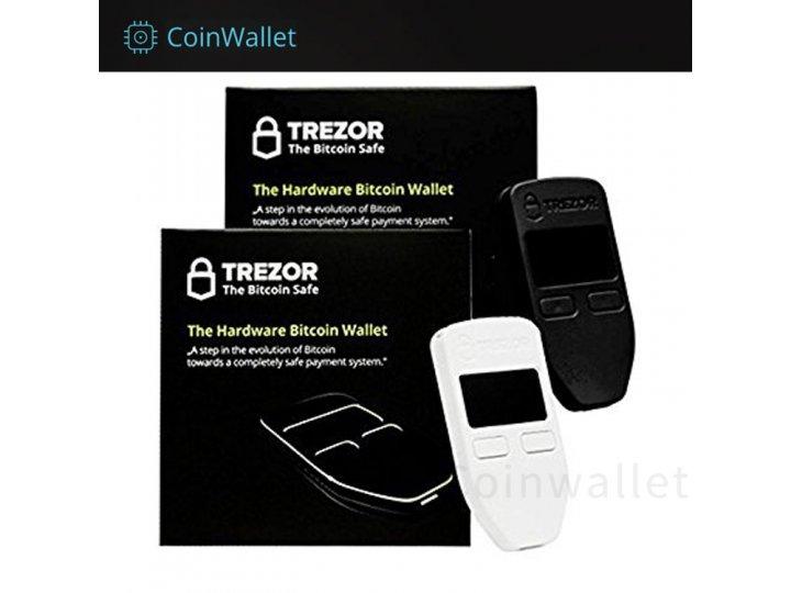 Аппаратный кошелек trezor wallet для холодного/физического хранения криптовалюты..