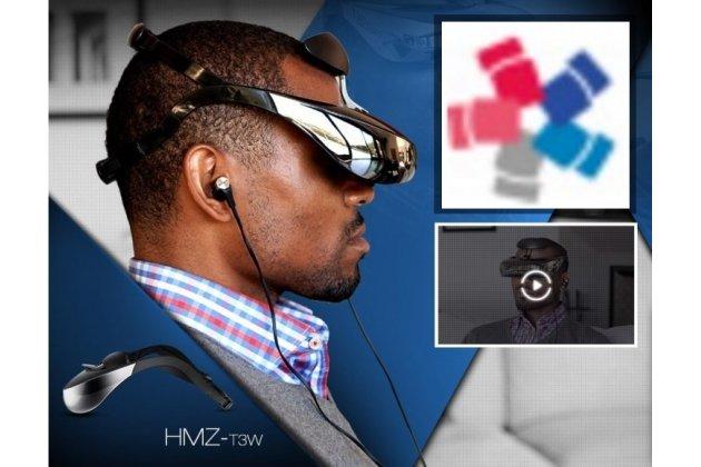 Шлем виртуальной реальности/ 3d-vr очки sony hmz-t3w для компьютеров и консолей