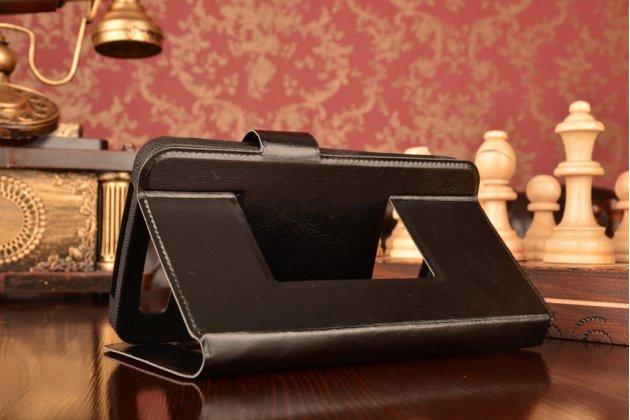 Чехол-футляр для lenovo k3 note с двумя окошками для входящих вызовов и свайпом из импортной кожи с внутренним защитным силиконовым бампером. цвет в ассортименте.