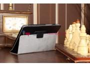 Чехол для Acer Iconia Tab A110/A110 черный кожаный..