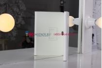 Чехол-обложка для acer iconia tab a210/a211 белый кожаный