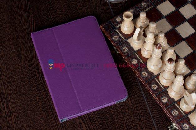 Чехол-обложка для acer iconia tab a210/a211 фиолетовый