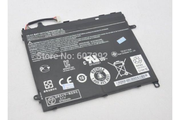 Аккумуляторная батарея 9800mah bat1011 1icp5/80/120-2 на планшет  acer iconia tab a510/a511 + инструменты для вскрытия + гарантия