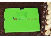 Чехол-обложка для Acer Iconia Tab A700/A701 зеленый кожаный..