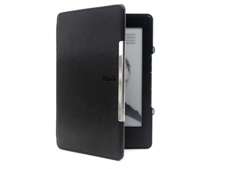 Чехол-обложка для электронной книги amazon kindle 4 чёрный ..