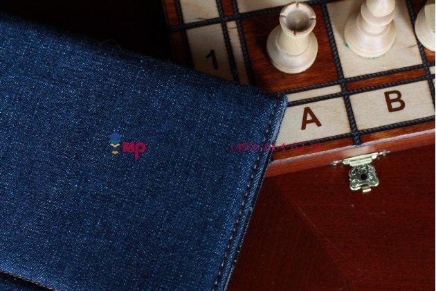 Чехол для asus transformer pad tf300 джинсовый с кожей