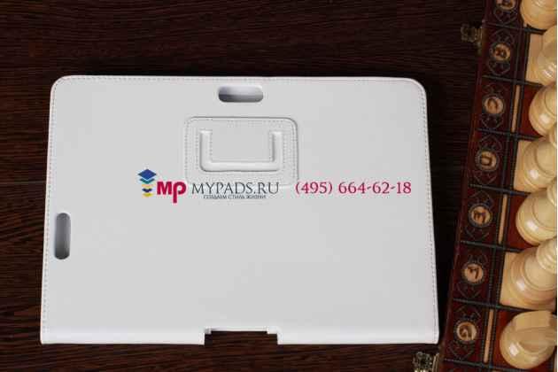 Чехол для asus transformer pad infinity tf700t/tf700kl белый кожаный