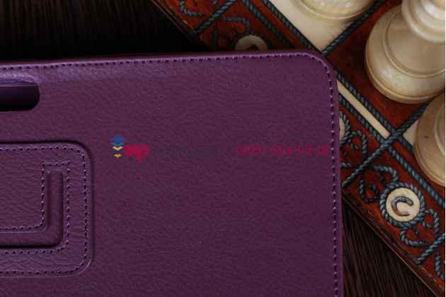 Чехол для asus transformer pad infinity tf700t/tf700kl фиолетовый кожаный