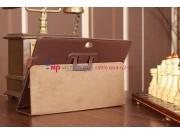 Чехол для Asus VivoTab RT TF600T/TF600TG коричневый кожаный..