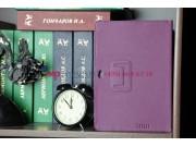 Фирменный чехол для Asus EEE Pad Transformer Prime TF201/TF201G фиолетовый кожаный..