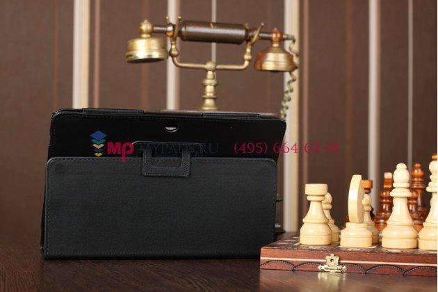 Чехол для asus transformer pad tf300/tf300tg/tf300tl черный кожаный