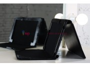 Фирменный чехол для Asus Transformer Pad Infinity TF700 с док-станцией черный кожаный..
