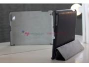 Чехол-обложка для iPad 2/3/4 из высококачественной итальянской натуральной кожи класса премиум черный..